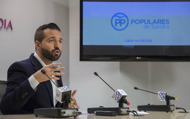 PP Gandia:  MORANT DEJA PERDER UNA SUBVENCIÓN DE HASTA 100.000 EUROS PARA FINALIZAR EL TRINQUET