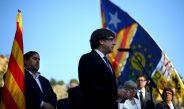 """Puigdemont  habla de """"horas esperanzadas"""" ante el fin del ultimátum"""
