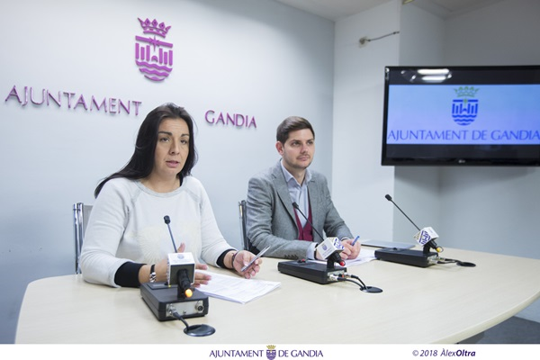 Gandia rebrà una subvenció de 409.000 € del Fons de Cooperació Municipal de la Generalitat