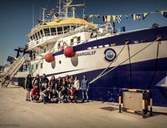 Estudiantes del Máster Marino – Costero de la UPV visitan el Buque Ramón Margalef del Instituto Español de Oceanografía
