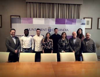 Empreses de Gandia acullen estudiants en pràctiques de Laval