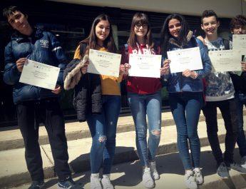 Alumnes del col•legi Abad Sola ocupen les primeres posicions en el major concurs autonòmic de l'àrea matemàtica, les anomenades Proves Cangur.