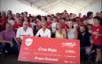 Entrega del cheque solidario del Campus Dulcesol® a la Cruz Roja de Gandía