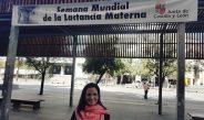 La pediatra Lucía Pascual,  de Gandia, participa en la semana de la lactancia materna de Castilla y León