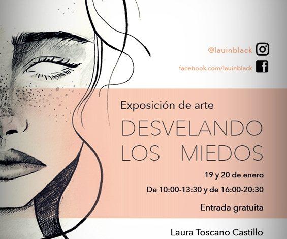 EXPOSICIÓN DE ARTE DE LAURA TOSCANO EL 19 y 20 de enero en Benirredrà