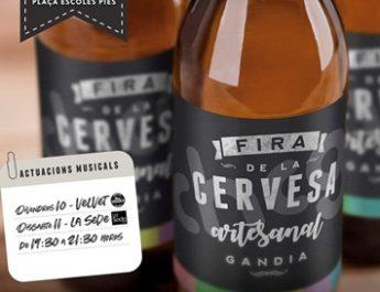 Aq uest cap de setmana arriba a Gandia la III Fira de la Cervesa Artesanal