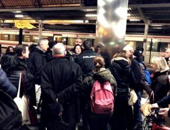 Compromís Valencia denuncia la detención de una mujer que protestaba por las demoras de los trenes de cercanías