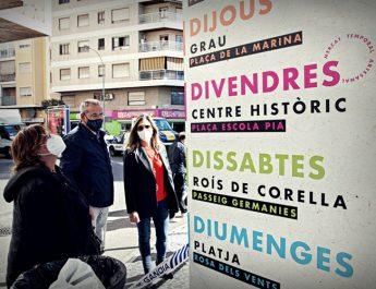 La Generalitat avala la re-apertura de manera segura dels mercats de Gandia
