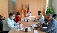 Oliva presenta davant de la Delegació de Govern dos projectes per tal de definir un model de ciutat
