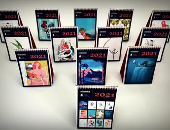 Las mejores ilustraciones para el Calendario Solidario de la Casa Ronald de València