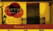 Rótova-El Porrat de Sant Macià 2021 lo celebramos en casa
